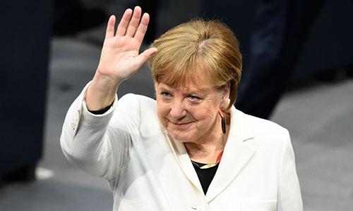 Thủ tướng Đức Merkel. Ảnh: Local.