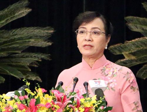 Chủ tịch HĐND TP HCM Nguyễn Thị Quyết Tâm. Ảnh: H C.