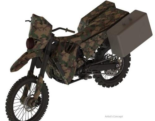 Mẫu thiết kế xeSilent Hawk cho đặc nhiệm Mỹ. Ảnh: WAMT.