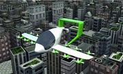 Thiết kế taxi bay tự động cất cánh giống trực thăng