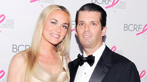 Donald Jr. và Vanessa Trump thuở còn mặn nồng. Ảnh:TNS