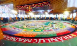 Tranh đá quý Mandala nhận kỷ lục Guiness Việt Nam