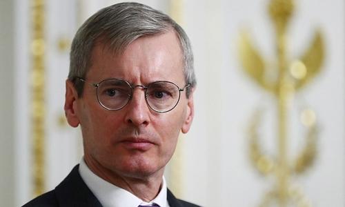 Laurie Bristow, đại sứ Anh tại Moscow. Ảnh: Tass.