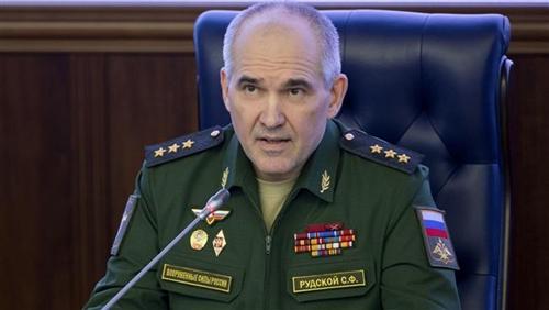 Sergey Rudskoy, Cục trưởng Cục tác chiến Bộ Tổng tham mưu quân đội Nga. Ảnh: AP.