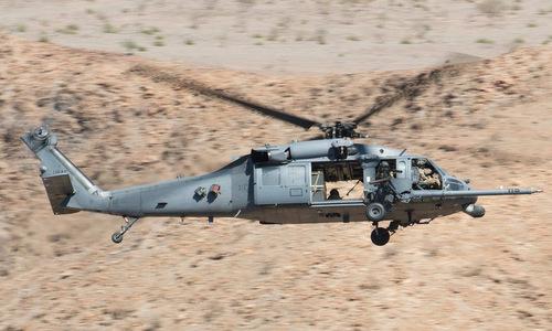 Trực thăng HH-60 Mỹ tại Iraq. Ảnh: Drive.