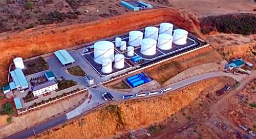 Tổng kho xăng dầu Dương Đông Hòa Phú