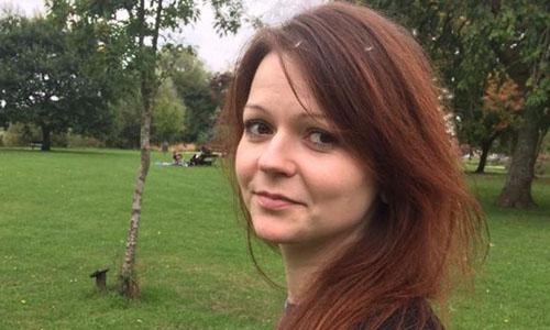 Con gái cựu điệp viên Nga Sergei Skripal. Ảnh: The Times.
