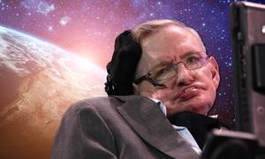 Stephen Hawking 'vụt tắt' nhưng lạc quan toả sáng dải Ngân hà