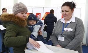Không khí bầu cử tổng thống trên khắp nước Nga
