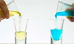 Ba thí nghiệm vui tạo màu với nước