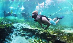 Thiết bị giúp lặn hơn một giờ mà không cần bình khí