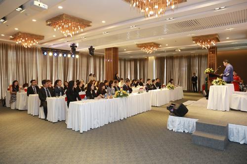 Lễ kí kết diễn ra tại Trung tâm hội nghị tiệc cưới Hera  Quận Tân Phú, nằm trong tổ hợp tiện ích Celadon Sports & Resort Club.