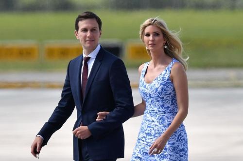 Ivanka Trump và chồng. Ảnh: US Magazine.