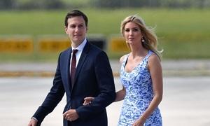 Trực thăng chở ái nữ Trump hạ cánh khẩn vì sự cố