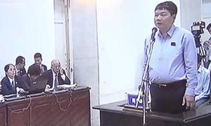 Ông Đinh La Thăng trả lời thẩm vấn lý lịch