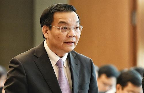 Bộ trưởng Chu Ngọc Anh trả lời chất vấn chiều 19/3. Ảnh: Giang Huy