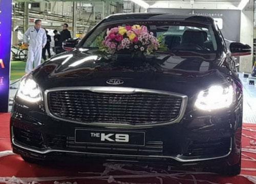 Kia K900 thế hệ mới lần đầu lộ diện.