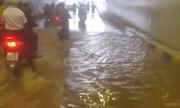 Hầm chui trăm tỷ ở Đà Nẵng bị ngập nước sau 4 tháng đón APEC