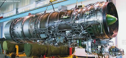 Động cơ WS-10B do Trung Quốc tự sản xuất. Ảnh: Chinese Military Aviation.