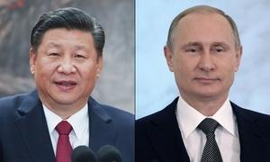 Chủ tịch Trung Quốc chúc mừng Putin tái đắc cử tổng thống Nga