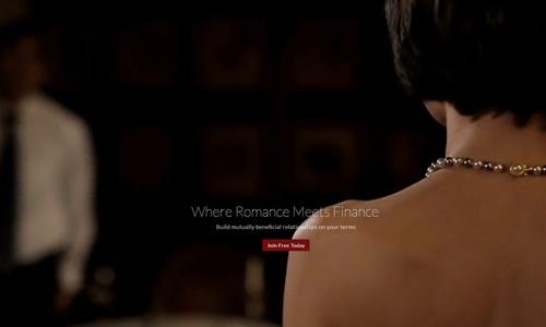 Trang mạng mai mối đại gia lớn tuổi với các cô gái trẻ đã thu hút 120.000 người dùng với câu tiếp thị Where Romance Meets Finance (Nơi gặp gỡ của Lạng mãn và Tài chính). Ảnh: SCMP.
