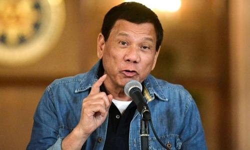 Tổng thống Philippines Rodrigo Duterte. Ảnh: Reuter.s