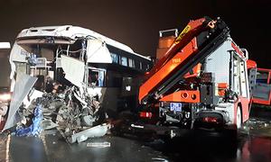 Bốn vụ tai nạn trên cao tốc Pháp Vân diễn ra thế nào?
