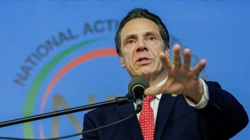 Thống đốc bang New York Cuomo. Ảnh: BBC.