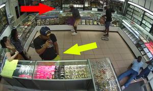 Nam thanh niên thể hiện 'thần thái phi phàm' khi gặp cướp