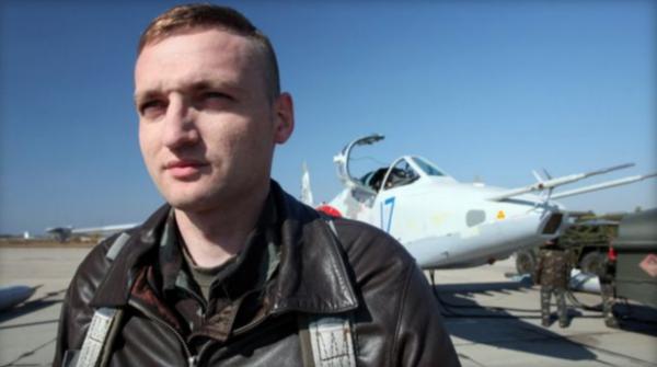 phi công Vladyslav Voloshyn trong bức ảnh năm 2016. Ảnh: BBC.