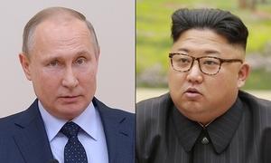 Kim Jong-un chúc mừng Putin đắc cử tổng thống Nga