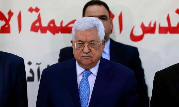 Tổng thống Mahmoud Abbas. Ảnh: AFP.