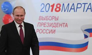 Việt Nam chúc mừng Putin tái đắc cử tổng thống Nga