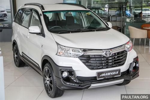 Avanza X thể hiện tham vọng giữ ngôi vương của Toyota trước sự xuất hiện của đối thủ mới Mitsubishi Xpander. Ảnh: Paultan.