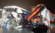 Xe khách chạy 87 km/h khi đâm xe cứu hỏa tại Pháp Vân - Cầu Giẽ