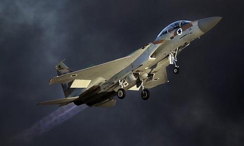 Một tiêm kích F-16 của Israel. Ảnh: AFP.