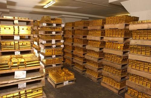 Chính quyền Gaddafi nắm giữ hơn 143 tấn vàng trước khi bị lật đổ. Ảnh minh họa: Financial Tribune.