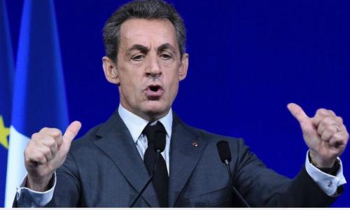Cựu tổng thống PhápNicolas Sarkozy phát biểu tại một sự kiện ở Paris năm 2016. Ảnh: AFP.