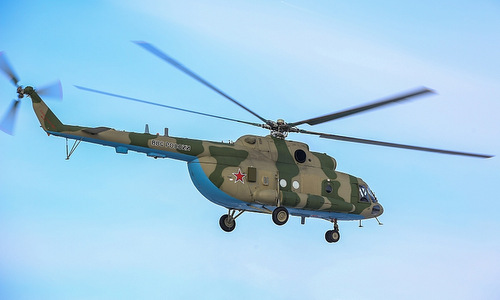 Một chiếc Mi-8MTPR-1 trong biên chế không quân Nga. Ảnh: Polina Stepanova.
