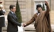 Cuộc gặp bị nghi bàn việc hỗ trợ tranh cử giữa Gaddafi và Sarkozy năm 2005