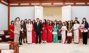Cuộc gặp đặc biệt của đệ nhất phu nhân Hàn Quốc với sinh viên Việt