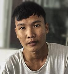 Nguyễn Thanh Tịnh khi bị bắt giam. Ảnh: Ngọc Trường.