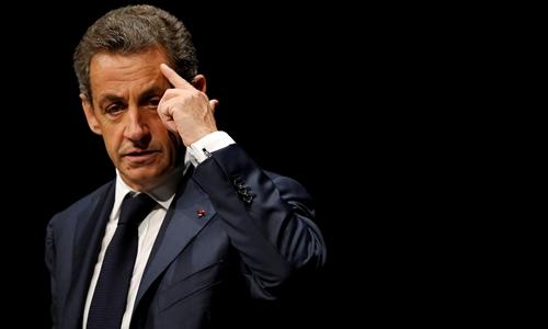 Cựu tổng thống Pháp Nicolas Sarkozy. Ảnh: Reuters.