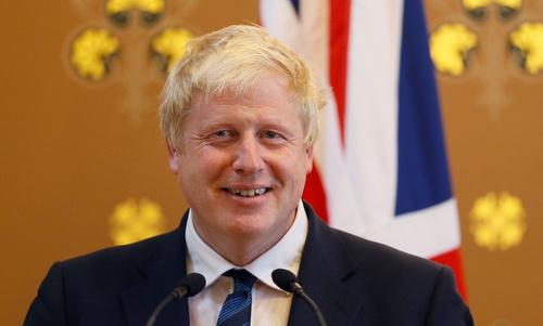 Ngoại trưởng Anh Boris Johnson. Ảnh: AFP.