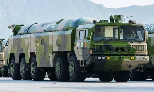 Mẫu tên lửa chủ lực Trung Quốc có thể uy hiếp Đài Loan