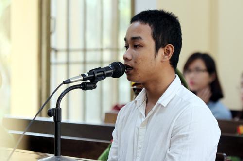 Bị cáo Lưu Văn Tiên.Ảnh: Đắc Thành.