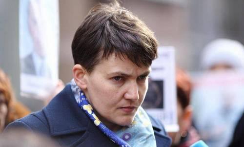 Nghị sĩ Nadiya Savchenko trước ngày bị bắt. Ảnh: AFP.