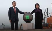 Tổng thống Hàn Quốc bấm nút khởi công xây Viện V-KIST rộng 80.000m2