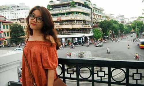 Nữ sinh Trần Thị Thu Hà. Ảnh: Facebook.