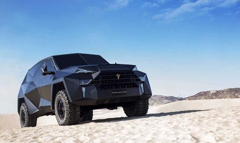 Karlmann King - siêu SUV Trung Quốc đắt nhất thế giới